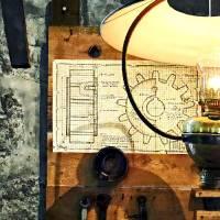 Blueprint Of Gear Art Prints & Posters by Susan Savad