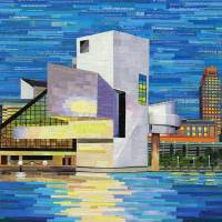 Downtown Cleveland Skyline Art Prints & Posters by Shawna Rowe