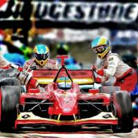 Pitstop Art Prints & Posters by Tom Sachse