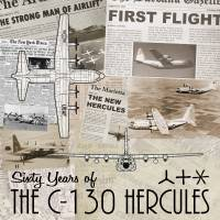60th Anniversary of C-130's First Flight Art Prints & Posters by Michael Brooks