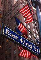 Forty Second Street Flags