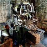 """Industrial Gear Cutting Machine"" by susansartgallery"