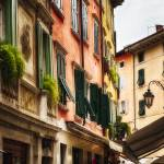 """Classic Northern Italian Street View, Riva Del Gar"" by George_Oze"