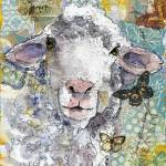 """Shorn This Way! Sheep Print"" by schulmanart"