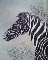 The Determined Zebra