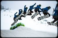 Frames in a motion: Snowboarding