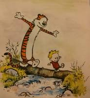 Calvin and Hobbes go Exploring