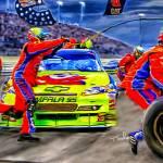 """""""NASCAR Pitstop"""" by ArtbySachse"""