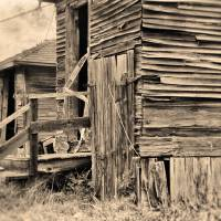 Vintage Farm Buildings by Lisa Rich