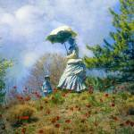 """Woman with Parasol"" by JohnRivera"