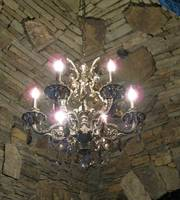 Luxurious chandelier