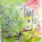 """Perfume Bottle Still Life Jessica Mc Clintock"" by GinetteCallaway"