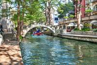 San Antonio River Walk bridge