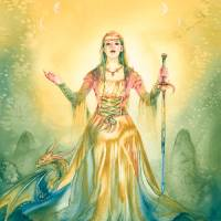 Sorceress Art Prints & Posters by Michelle Tracey