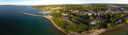 Petoskey Waterfront Panorama