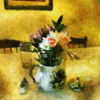 The Breakfast Table Art Prints & Posters by RC deWinter