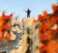 urban-deer-hunter-pierre-dumas