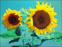 sunflowers-painting-pierre-dumas