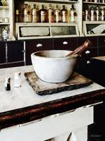 Mortar and Pestle in Apothecary