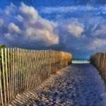 """Miami Beach Fence"" by rdwittle"