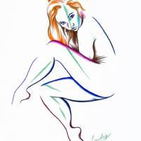 Lisa Art Prints & Posters by Aarron Laidig