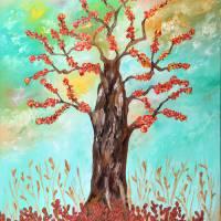 Tree of joy Art Prints & Posters by Loredana Messina