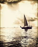 Sunset Sail Vintage