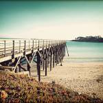 """Pacific Coast Hwy 3 Bridge Vintage"" by ChrisAndruskiewicz"