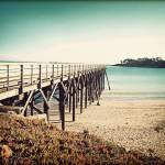 """Pacific Coast Hwy 3 Bridge Vintage"" by ChrisAndruskiewicz"