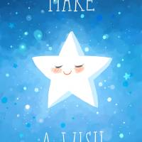 Make a Wish Art Prints & Posters by Indre Bankauskaite