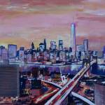 """New York City Skyline with 1WTC and CrossingStreet"" by arthop77"