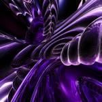 """Purple Delusions Abstract"" by AlexButler"