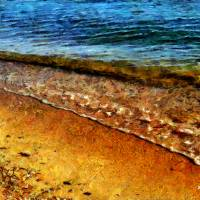 Sur la Plage Art Prints & Posters by RC deWinter