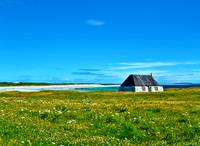 Tiree cottage, Scotland, UK.
