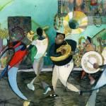 """New Orleans Brass Band Jazz"" by DavidRalph"