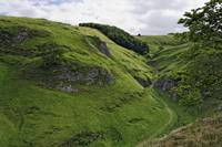 Cave Dale from Peveril Castle (39495-RDA)