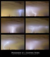 Progression of a Lightning Storm