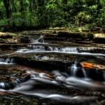 """Jonathan Run Cascades - Ohiopyle State Park"" by Shadrags"
