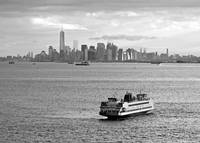 Ferry in New York Harbor
