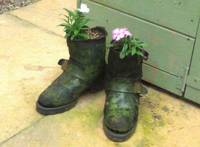 Boots Made For Planting