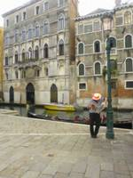 Gondolier Taking Break