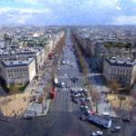 """Paris Seen from the Arch"" by rdwittle"