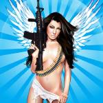 """The angel with the gun"" by Brian_Gibbs"
