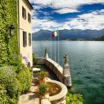 """Lake Como Villa with a View"" by George_Oze"