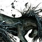 """Night Dance Spirit Horse"" by AmyLynBihrle"