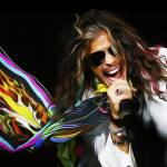 """Aerosmith Steven Tyler Painting"" by netbrands"