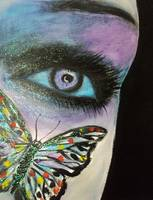 Purple Butterfly Eye