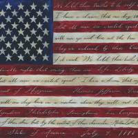 American Flag I Have a Dream II Art Prints & Posters by Caitlin Dundon