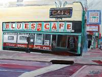 The 'Blues Cafe'