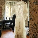"""19th Century Wedding Dress"" by susansartgallery"